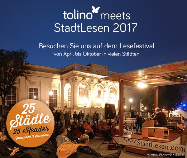 tolino meets StadtLesen