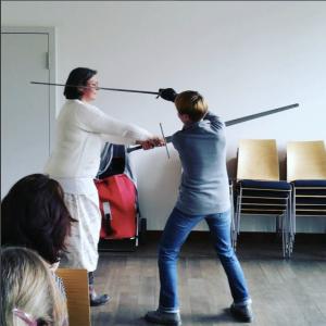 Schwertkampf Workshop