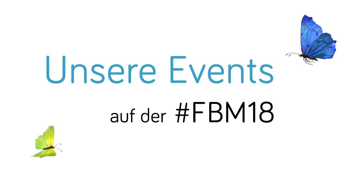 Eventplan Frankfurter Buchmesse 2018