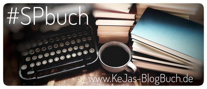 Schreibmaschine, Kaffeetasse und Bücher, #SPbuch