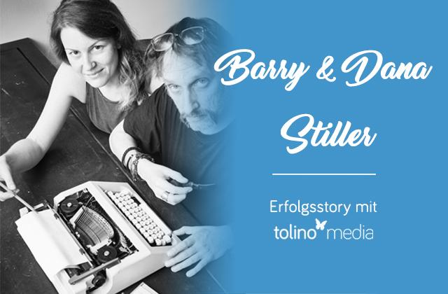 Barry und Dana Stiller an der Schreibmaschine
