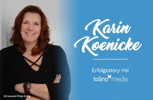 Die Autorin Karin Koenicke