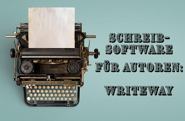 Bild zu Writeway-Artikel. Schreibmasche