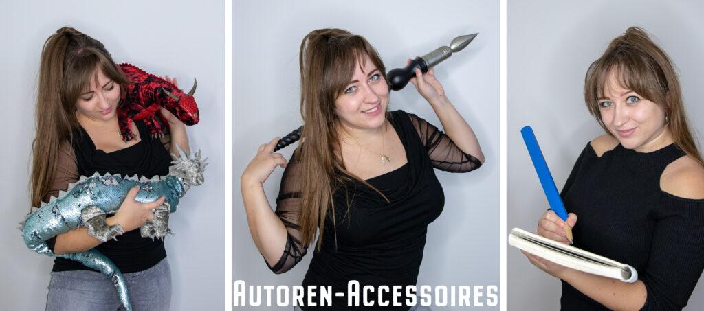 Accessoires für Autorenfotos