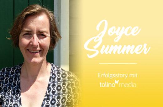 Joyce Summer Autorin des Monats bei tolino media