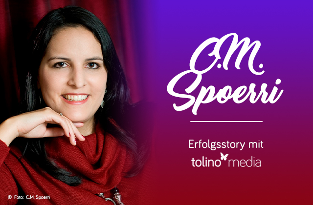 Autorin des Monats: Corinne M. Spoerri tolino media Selfpublishing