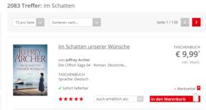 """Suchergebnisse """"Im Schatten"""" Metadaten"""