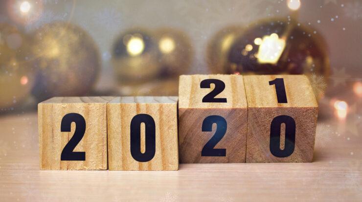 Jahresrückblich und Wechsel von 2020 auf 2021
