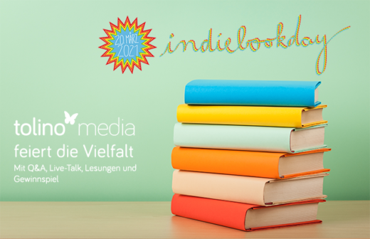 #Indiebookday tolino media Live-Event