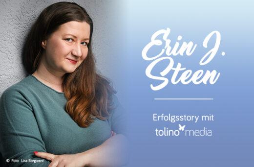 Erin J. Steen, tolino media Autorin des Monats, Selfpublishing